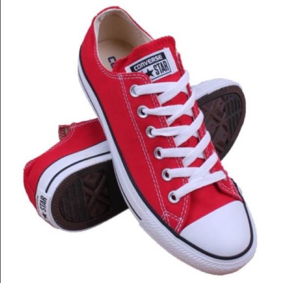 8c8755f664c4 Converse Other - Converse red low top